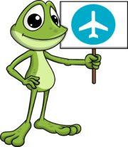 Žabák Avák a letadélko