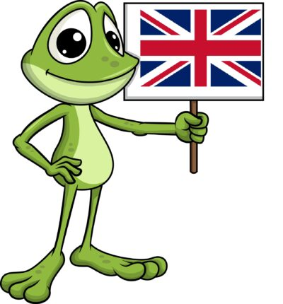 žabák Avák a angličtina